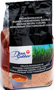 Brūnais niedru cukurs Dansukker 750g