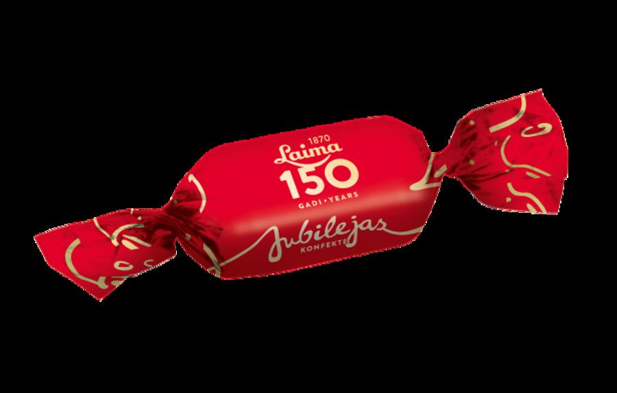 """Šokolādes konfektes """"Jubilejas 150"""" Laima 1 kg"""