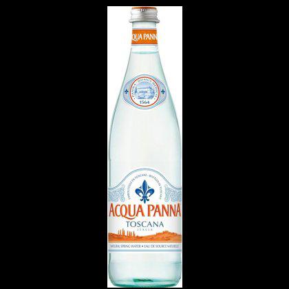 Acqua Panna dabīgs minerālūdens 0,75 ml  negāzēts/stikls