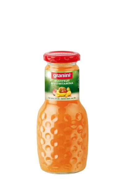 Multiaugļu sula Granini 0.25ml/stikls