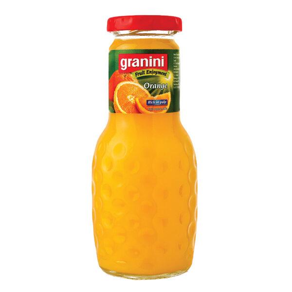 Apelsīnu sula  Granini 0.25ml/stikls