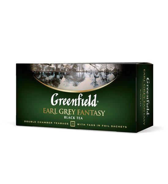 "GREENFIELD ""Earl Gray Fantasy"" melnā tēja 25x2g"