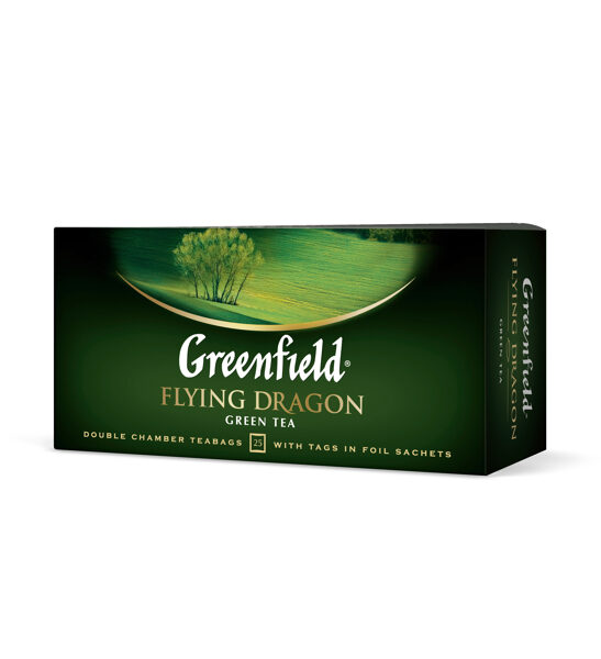 "GREENFIELD ""Flying Dragon"" zaļā tēja 25x2g"
