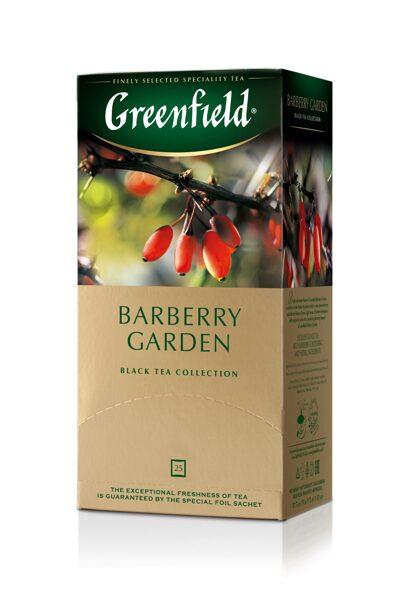 "GREENFIELD ""Barberry Garden"" melnā tēja 25x1.5g"