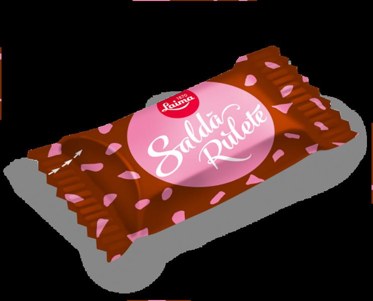 """Šokolādes konfektes Laima """"Salda rulete"""" 1 kg"""