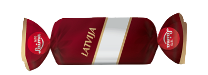 """Šokolādes konfektes """"Latvija"""" Laima 1kg"""