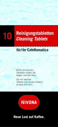 Tīrīšanas tabletes Nivona 10gab