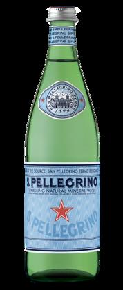 S.Pellegrino gāzēts 0.75ml. stikls