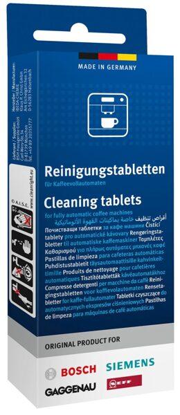 Siemens/Bosch  tīrīšanas tabletes 10gab