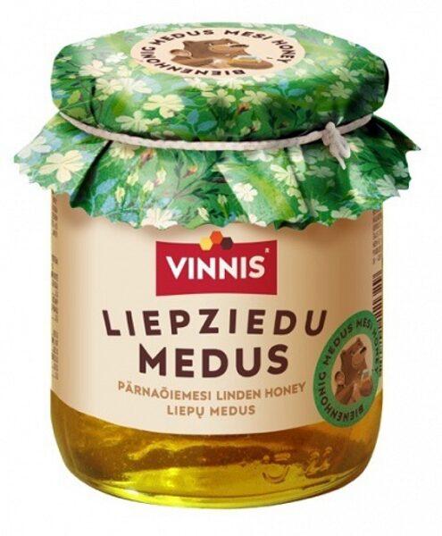 Liepu ziedu medus 300g Vinnis