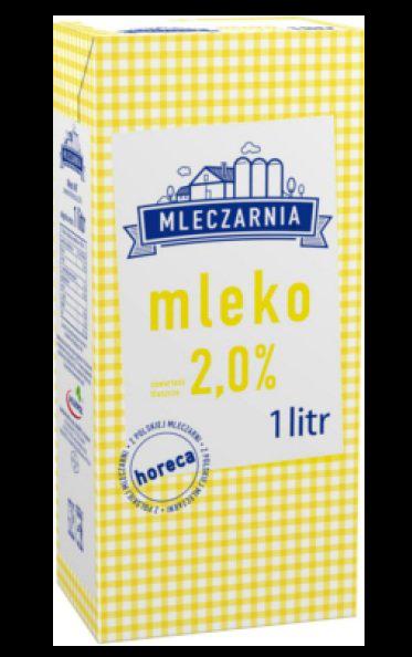 Piens 2% Mlekpol  1L