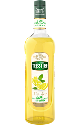 Citronu sīrups Teisseire 1L
